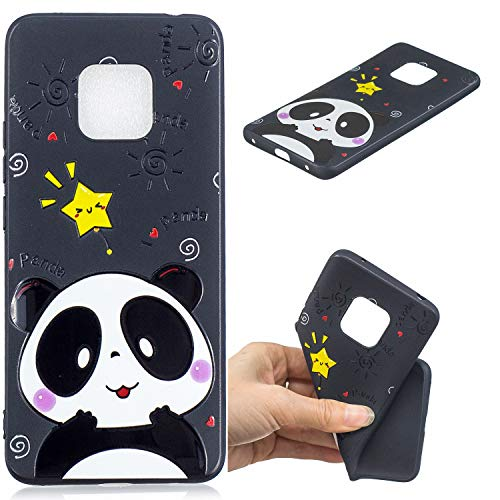 Anlike Coque Huawei Mate 20, Phone Case Etui/Housse Silicone Protection Etui pour Huawei Mate 20 - Panda