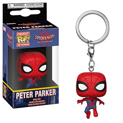 Product Image 6: Funko Pop Keychain: Animated Spider-Man Movie – Spider-Man Collectible Figure, Multicolor