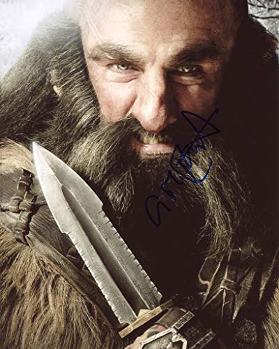 GRAHAM McTAVISH - The Hobbit's Dwalin AUTOGRAPH Signed 8x10 Photo