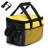 HobbyAnt 20L Portable Electric Cooler&Heating Bag Car Plug Storage Travel Food Box 12V