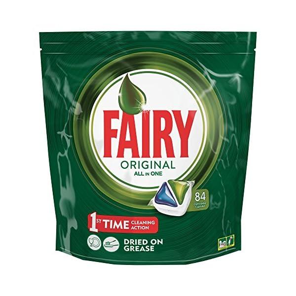 Fairy Original Todo en 1 Cápsulas para Lavavajillas – 84 Cápsulas