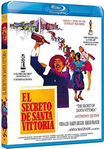 Das Geheimnis von Santa Vittoria / The Secret of Santa Vittoria (1969) ( ) (Blu-Ray)