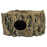 Hobby 36258 Eckhöhle Bark Höhle für Reptilien und Amphibien, 21 x 17 x 11 cm