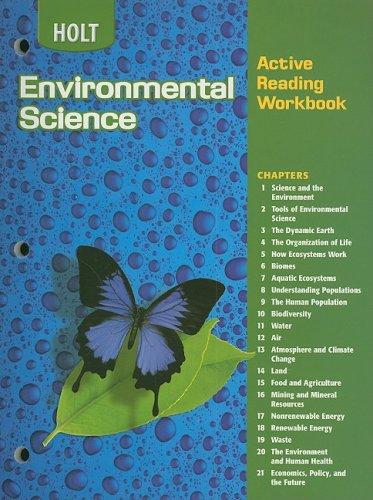 Best environmental science textbook high school