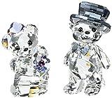 Swarovski Kris Bear 1096736 Home Decor, Motivo: You And Me, 5,2 x 7,5 x 2,6 cm