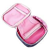 LoKauf 13 * 10 * 4cm Tragbar Wasserdicht Medizintasche Sanitätstasche Reiseapotheke Tasche Erste Hilfe Set - 4