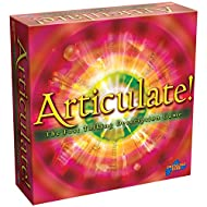 """ARTICULATE! Bring everyone together with this fast-talking description board game as players try to describe as many card entries as possible within 30 seconds No """"rhymes with"""" or """"sounds like"""" allowed! TRY NOT TO PANIC! Describe a word without actua..."""