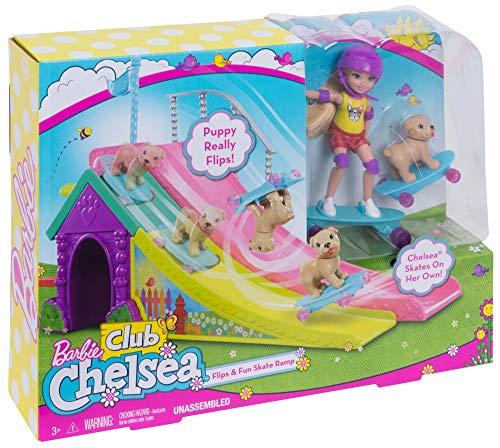 Barbie Chelsea Planche à Roulettes Skatepark FBM99 - 7