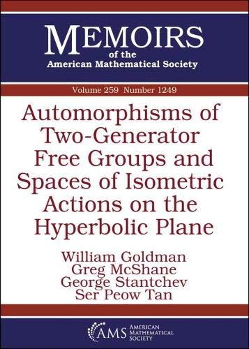 Automorphisms of Two-generator Free Groups and Spaces of Isometric Actions on the Hyperbolic Plane (Memoirs of the American Mathematical Society, Band 259)