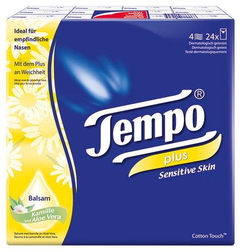 Tempo - Plus Sensitive Skin Taschentücher