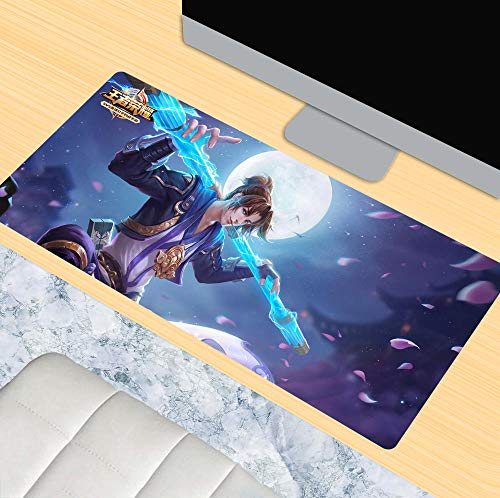 Mouse Pads,3D mouse pad, game oversized mouse pad, keyboard pad, table mat, precise positioning, king glory, Goku@80 * 30CM