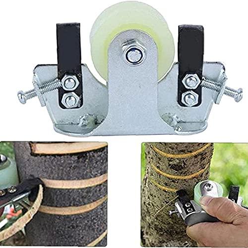 ZHURGN Fruit Tree Ring Stripping Knife, Bark Peeling Girdling Cutter, Garden Tree Knife Ring Barking Cutter Scissor, Pruning Tool Garden Fruit Tree Scissors Wood Cutter Tool