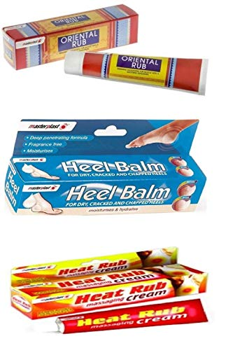Massage Balm Collection (3 Pack)- Massaging Sore Muscles, Cracked Heel, Chapped Heel, Elbow, Soothing Sensation