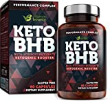 Exogenous ketone supplement - beta ketone sel, keto pills - 60 vitamin bounty capsules