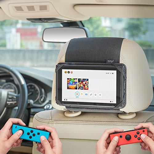 WANPOOL Soporte para reposacabezas de coche compatible con Nintendo Switch y otras tabletas de 7 pulgadas