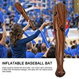 Inflatable Baseball Bats, Giant 36 Inch Baseball Bats Party Favors for Kids, Sports Theme Toy Party Supplies Decorations