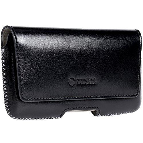 Krusell® Gürteltasche Hector 5XL für iPhone X iPhone 8 iPhone 7 Galaxy S7 Quertasche, schwarz