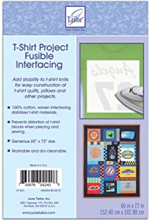 June Tailor T-Shirt Project Fusible Interfacing 60X72-White