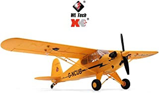 AKDSteel RC Plane XK A160 3D/6G 7.4v High-Performance 1406 Brushless Motor Airplane Top Race Rc Plane Remote Control Ready to Fly Stunt Flying Upside Down Great Gift Toy for Adults or Advanced Kids