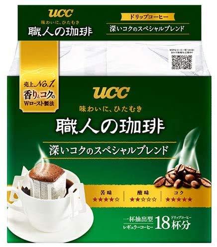 職人の珈琲 ドリップコーヒー 深いコクのスペシャルブレンド 18P×6袋入