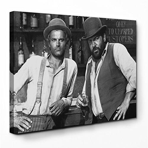 Bud Spencer - Vier Fäuste für EIN Halleluja - Leinwand (120x80cm)