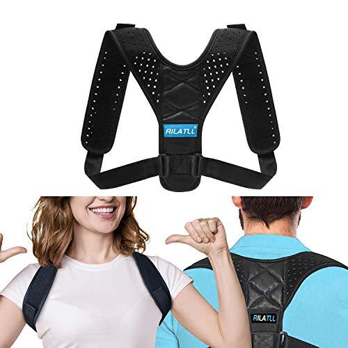 Adjustable Posture Corrector for Women and Men - Adjustable Back Braces -...