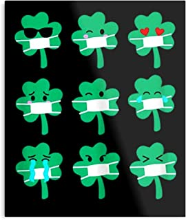 Quarantine Wearing Shamrock This Funny Patrick Ireland from is Hot Categories Gag Irish Trend St Day S of Pandemic Art Pos...