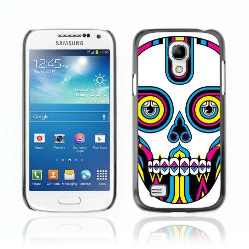 CelebrityCase Polycarbonate Hard Back Case Cover for Samsung Galaxy S4 MINI ( Sugar Skull )