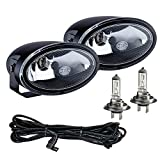 HELLA 008283801 FF50 Series Clear 12V/55W Halogen Fog Lamp Kit