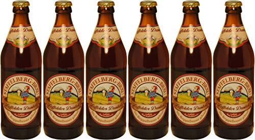Staffelberg - Bräu - Loffelder Dunkel (6 Flaschen) I Bierpaket von Bierwohl
