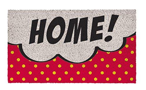 SHOE-MAX YH 101931Pop Art Home–Felpudo (44x 74cm, 2,1kg