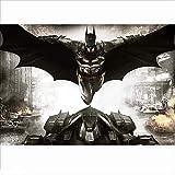 WUJINJ Novela Resistente a la Fatiga 520P niños Partición de Madera del Rompecabezas de Dibujos Animados de Batman DC Modelo cómico Adulto descompresión del Juguete (Color : D, Size : 80P)