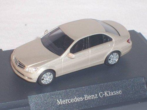 MERCEDES-BENZ C-KLASSE W204 LIMOUSINE GOLD HO H0 1/87 BUSCH MODELLAUTO MODELL AUTO SONDERANGEBOT