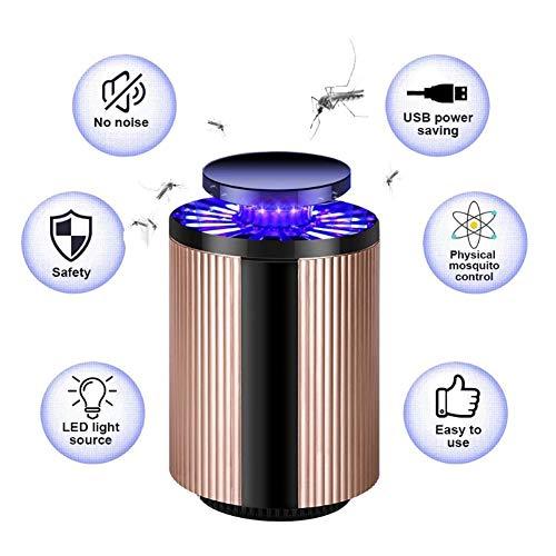 Muggenverdelger, niet-giftige, geruisloze muggenzapper draagbare vliegen morder lamp USB wanten zapper insecten vliegen inhalator vanger-safe voor baby's en zwangere vrouwen, huishouden