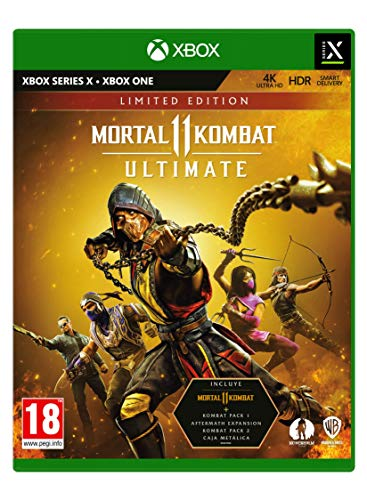 Mortal Kombat 11: Limited Edition XBSX Limitada Xbox