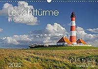 Leuchttuerme in aller Welt 2022 (Wandkalender 2022 DIN A3 quer): 12 atemberaubende Fotografien der schoensten Leuchttuerme. (Monatskalender, 14 Seiten )