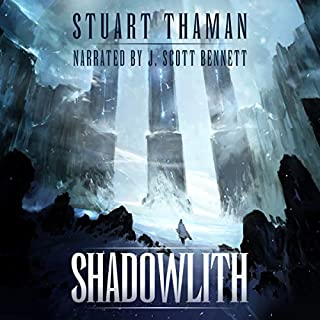 Shadowlith audiobook cover art