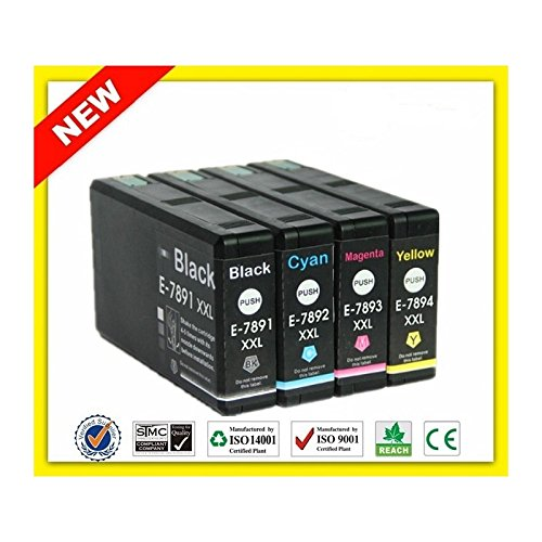 T7893-XXL Cartuccia Compatibile Magenta Per Epson WorkForce Pro WF-5110DW WF-5190DW WF-5620DWF WF-5690DWF