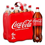 Coca-Cola Sabor Original - Refresco de cola - Pack 6 botellas 2 L