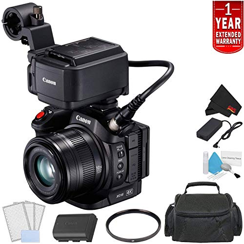 Find Discount Canon XC15 4K Professional Camcorder Bundle (1456C002) with 1 Year Extended Warranty