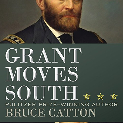 Grant Moves South audiobook cover art