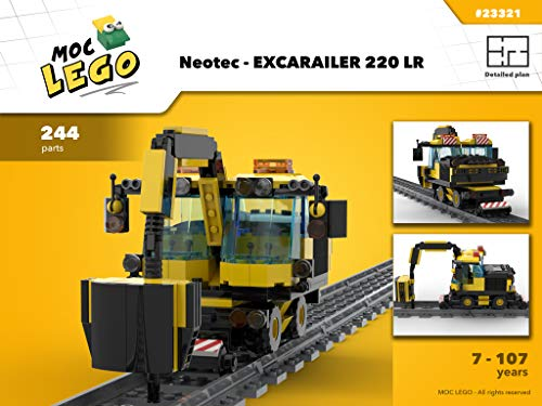 Neotec - EXCARAILER 220 LR (Instruction Only): MOC LEGO (English Edition)