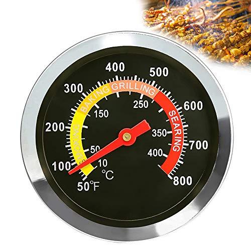 Beenle-Icey Braten- und Ofenthermometer, kombinierte Anzeige für Ofentemperatur und Kerntemperatur auf einem Blick, Grillthermometer mit Skala für ideale Garpunkte