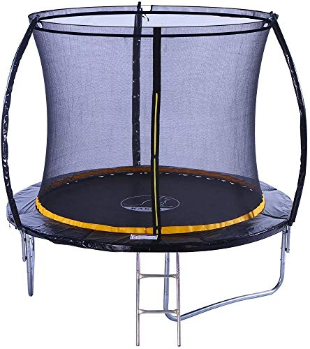 Kanga 8ft Premium Trampoline with Safety Enclosure, Net, Ladder and Anchor Kit 2020 Model