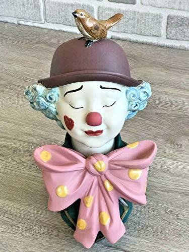 Lladro Nao 02012008 A CLOWN'S Friend Porcelain Figurine New
