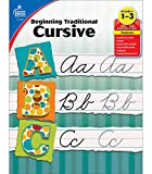 Carson Dellosa Beginning Traditional Cursive Workbook—Grades 1-3 Handwriting Practice, Uppercase and Lowercase Letters of the Alphabet, Number Words (32 pgs) (Learning Spot)