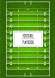 Football Playbook: American Football Players Playbook for Tournament Day And Training Strategies   100 Detailed Sheets With Us Football Field to ... Strategy   Gift Book For Coach and Trainer.