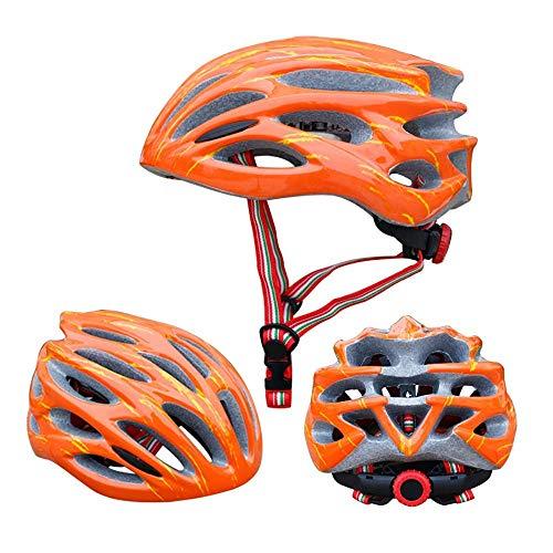 RH-HPC Casco de Bicicleta Ultraligero PC + EPS, equitación, Bicicleta de Bicicletas...