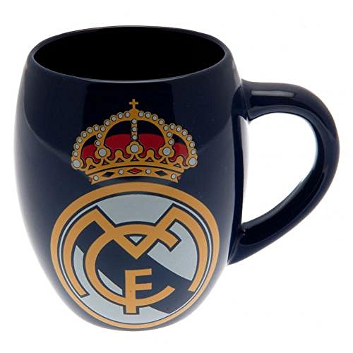 Real Madrid FC Official Football Gift Tea Tub Mug - A Great Christmas / Birthday Gift Idea For Men And Boys by Official Real Madrid FC Gifts