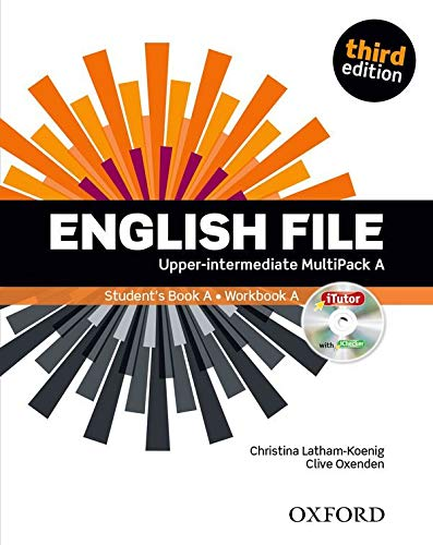 English File third edition: English file. Upper intermediate. Student's book-Workbook-Itutor-Ichecker A. With key. Con e-book. Con espansione online. ... The best way to get your students talking